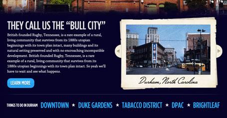 Durham image slider