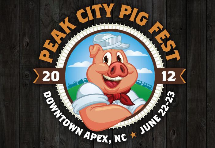 Peak City Pig Fest logo and dates