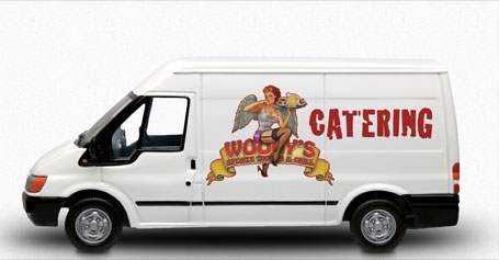 Animated Woody's Catering Van
