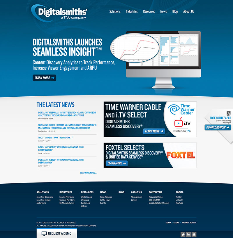 Digitalsmiths Home