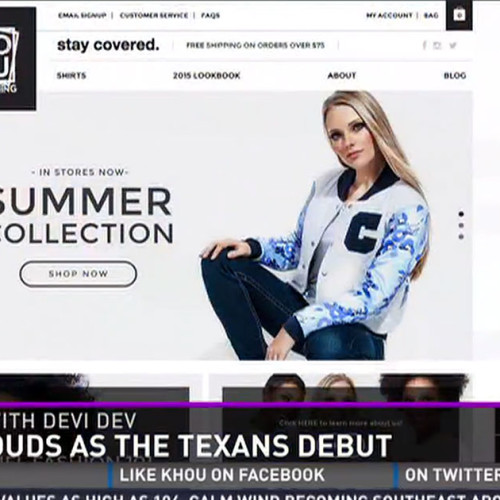 COVU Clothing Makes An Appearance on Houston Local News