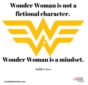 wonder woman is a mindset