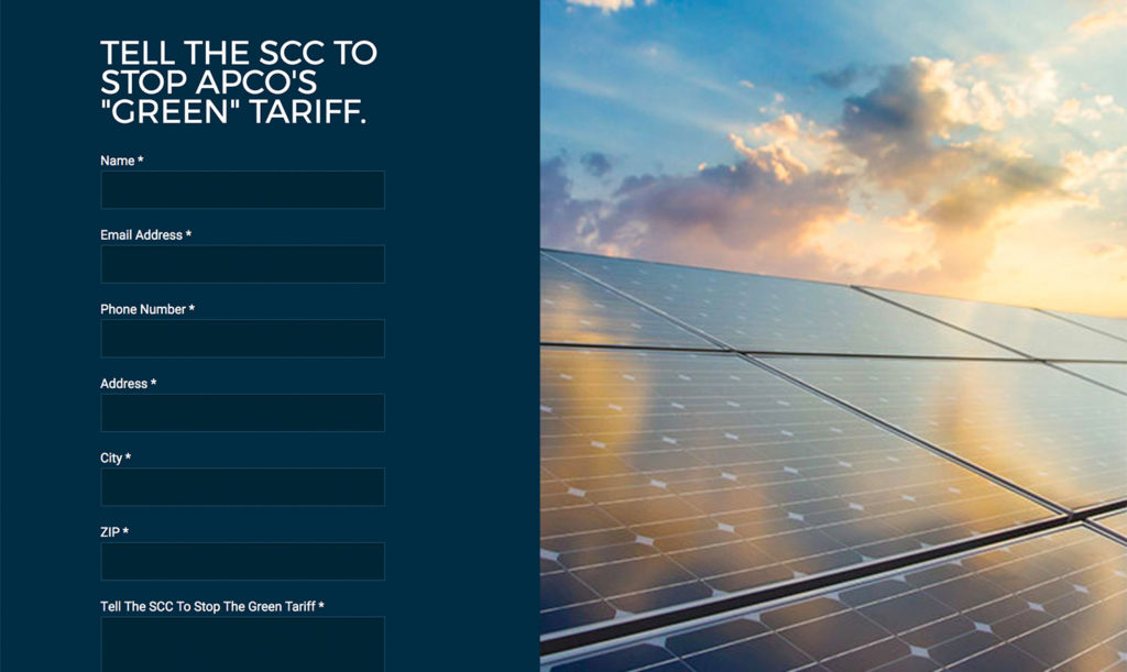green tariff notebook