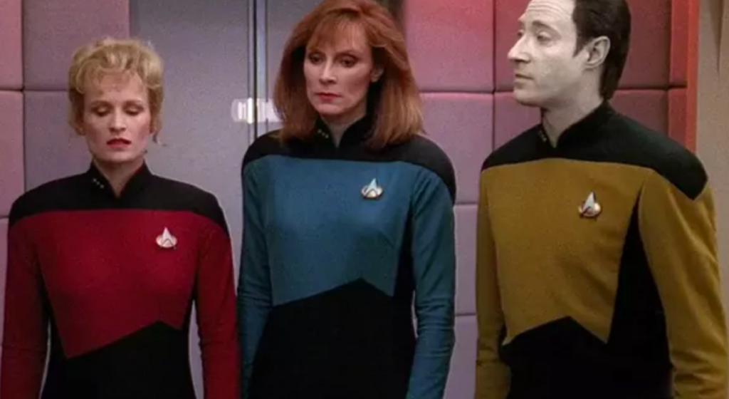 Star Trek uniform work clothing
