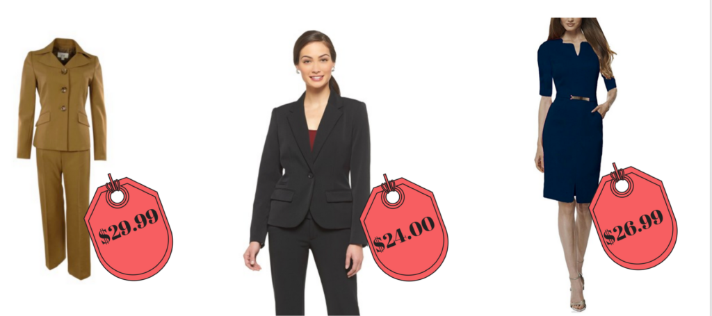 affordable work outfits from online stores