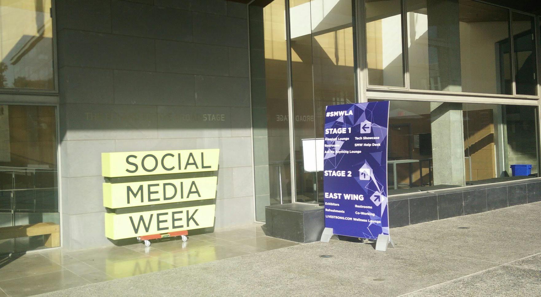 social media week in LA