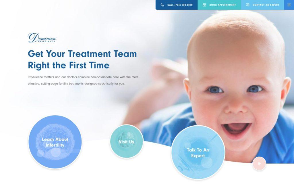 Dominion Fertility Web Home Page
