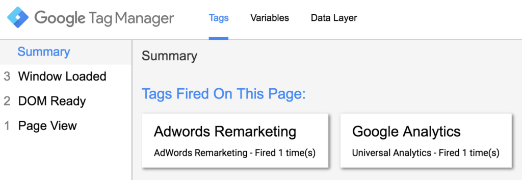 Verify if Your Google Tag Manager Tag is Firing Correctly
