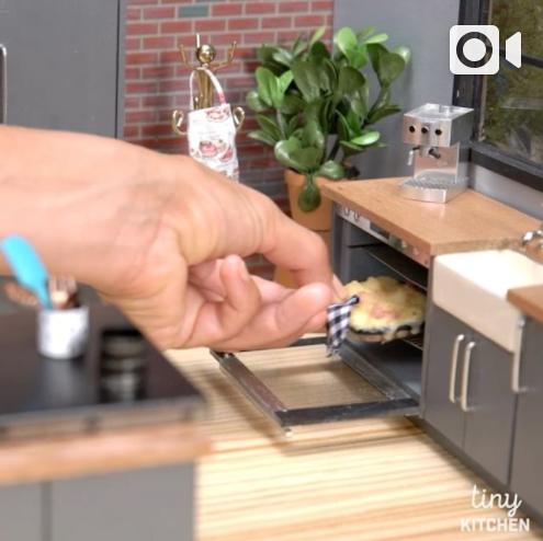 Video Asymmetry Tiny Kitchen