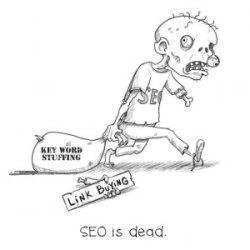 SEO joke SEO is dead